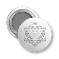magnez okrągły wzór