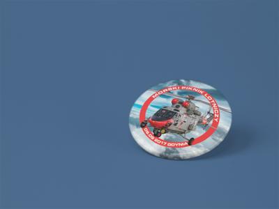 Magnes na lodówkę Morski piknik lotniczy