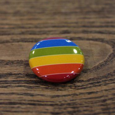 Przypinka tęczowa marsz równości rainbow gay
